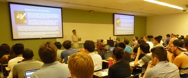 """UNICOM Global CEO Serves as """"Professor for a Day"""" at CSUN"""