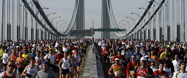 Firetide at the 2014 TCS New York City Marathon