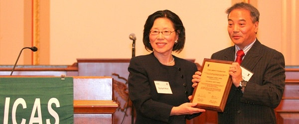 ICAS Annual Liberty Award 2012 Guest of Honour: Corry Hong